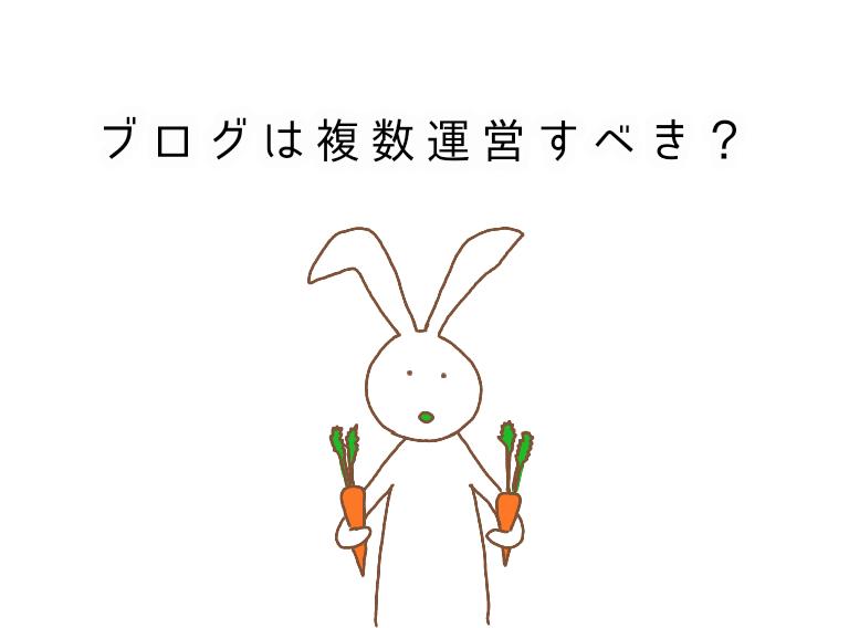 ウサギと人参