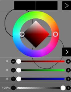 色選択画面