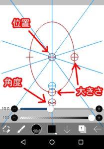 楕円形定規