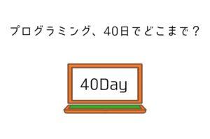 iSaraの事前学習。プログラミングは40日でどこまできるのか報告します【学習のコツもあり】